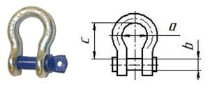 Скоба омегообразная DIN G2130